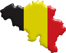 belgium-map-flag